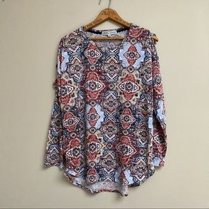 Absolutely Famous tribal print sweater